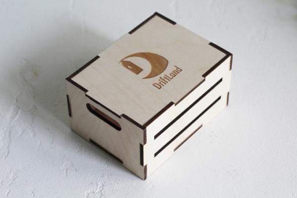 Мини ящик с крышкой (набор 6шт.)