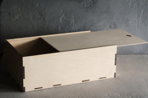Коробка слайдер из фанеры