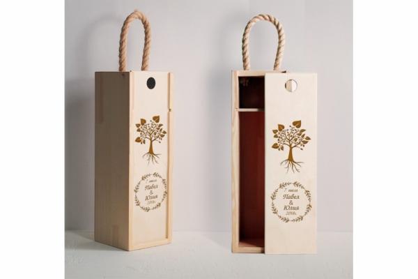 """Коробка для вина """"Дерево"""""""
