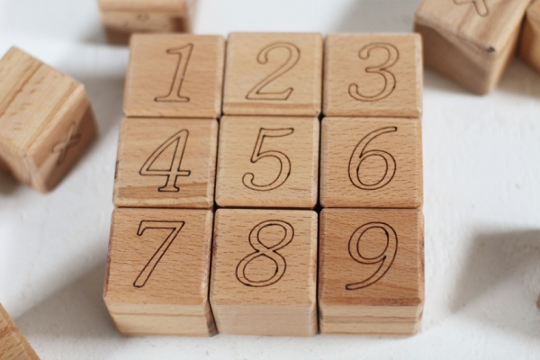 "Набор кубиков ""Цифры"""