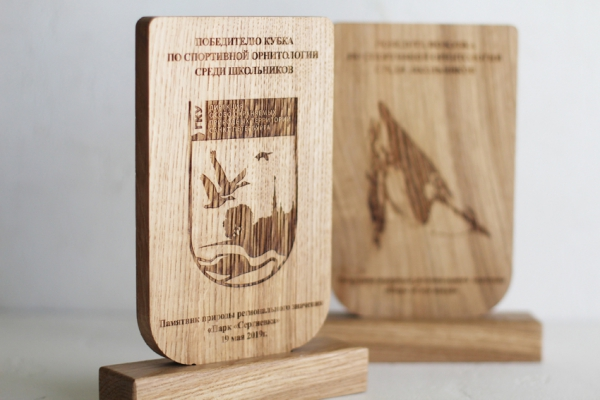 Кубок из дерева