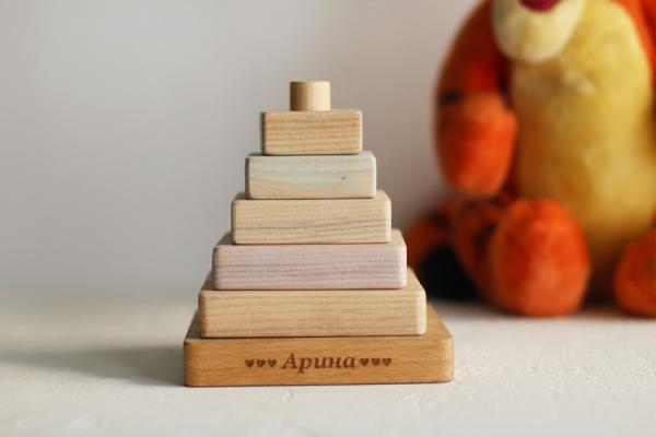"""Деревянная игрушка """"Пирамидка"""""""